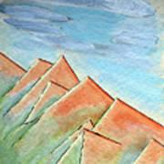 Coastal Range Art Print