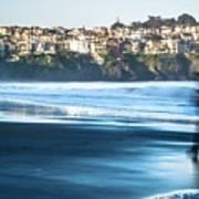 Coastal Scenes At Usa Pacific Coast Art Print