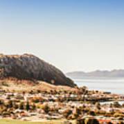 Coastal Tasmanian Town Art Print