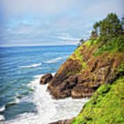 Coastal View From North Head Art Print