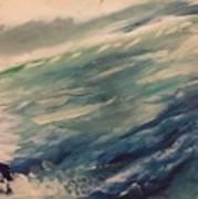 Coastal Waters Art Print