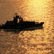 Coastguard Vessel Art Print