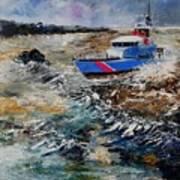 Coastguards Art Print