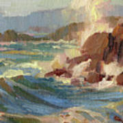 Coastline Art Print