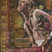 Cobain Art Print