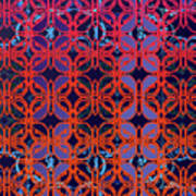 Cobalt Crimson Art Print