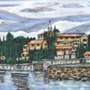 Cobblestone Cove Art Print