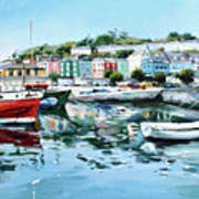 Cobh Harbour County Cork Art Print