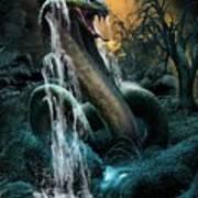 Cobra Falls Art Print