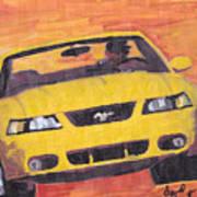 Cobra Mustang Art Print