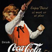 Coca-cola Ad, 1923 Art Print by Granger