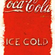 Coca-cola Cooler Art Print