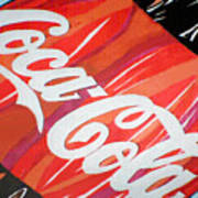 Coca Cola Fan Art Art Print