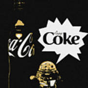 Coca-cola Forever Young 7 Art Print