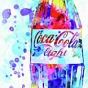 Coca Cola Light Art Print