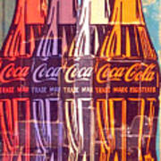 Coca Cola Newspaper Art Pop Art Pur Serie Art Print