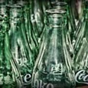 Coca Cola So Many Bottles Art Print
