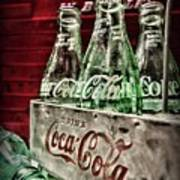 Coca Cola Vintage 1950s Art Print