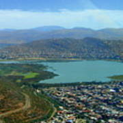 Cochabamba Lake Art Print