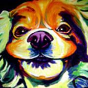 Cocker Spaniel - Cheese Art Print by Alicia VanNoy Call