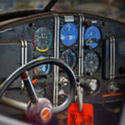 Cockpit Art Print