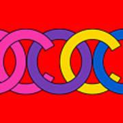 Coco Chanel-8 Art Print