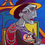 Coco Chanel Art Print