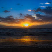 Cocoa Beach Sunrise 5 Art Print