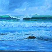 Cocoa Beach Surf Art Print