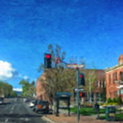 Coconino County Courthouse Art Print