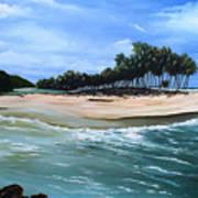 Cocos Bay Trinidad Art Print