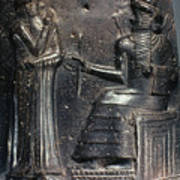 Code Of Hammurabi (detail) Art Print by Granger