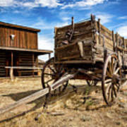 Cody Wagon Train Art Print