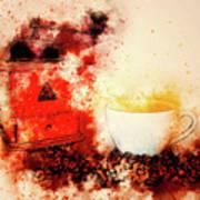 Coffe Grinder Art Print