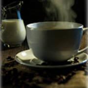 Coffee And Cream Art Print