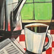 Coffee And Morning News Art Print