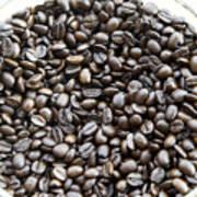 Coffee Beans From Brazil  Art Print