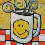 Coffee Cup One Art Print