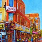 Coffee Depot Cafe And Terrace Art Print