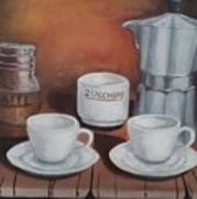 Coffee Set Art Print