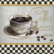 Coffee Shoppe 1 Art Print