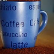 Coffee Straight Up  Art Print