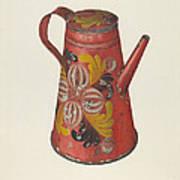 Coffeepot Art Print