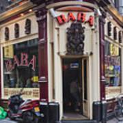 Coffeeshop In Amsterdam Art Print