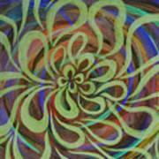 Cognitive Bloom Invert Art Print