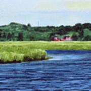 Cohansey River Art Print