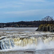 Cohoes Falls New York Art Print