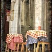 Coimbra Cafe Art Print