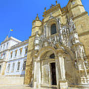 Coimbra Historic City Art Print
