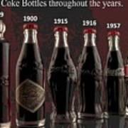 Coke Through Time Art Print